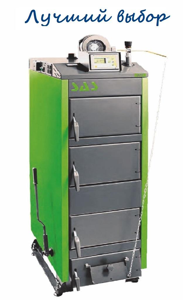 Котел на твердом топливе SAS UWT(с автоматикой) 78 кВт