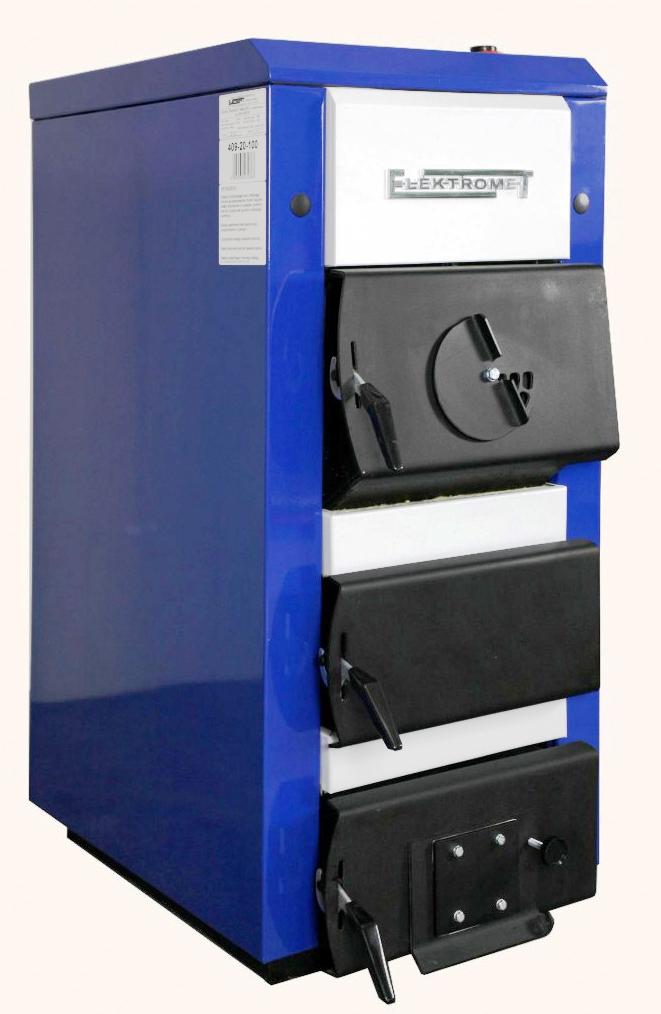 Стальной твердотопливный котел Elektromet EKO-KWS 25