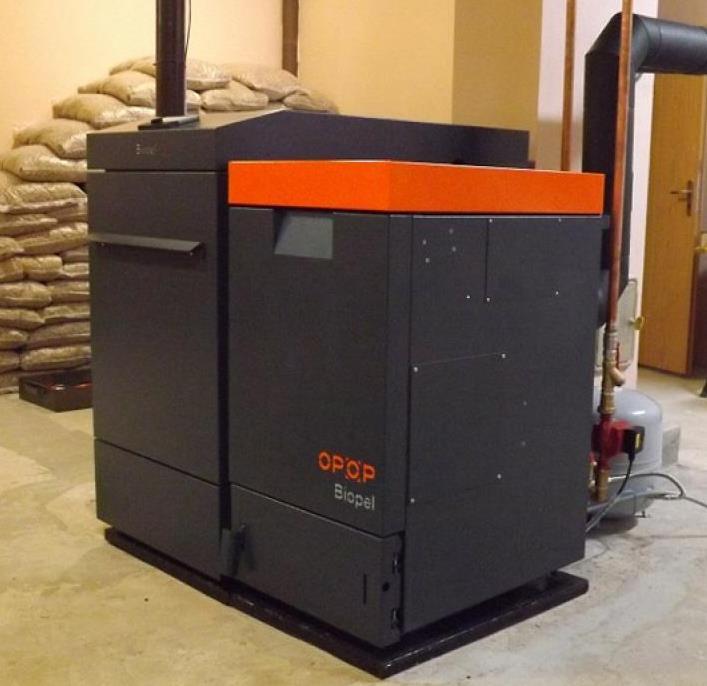 Пеллетный котел OPOP BIOPEL line compact 40