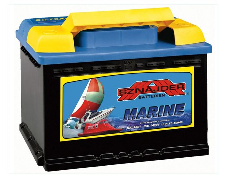 Аккумулятор лодочный тяговый Sznajder Marine 100Ah