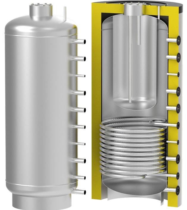теплоаккумулирующая емкость S-Tank TT1 1000/200