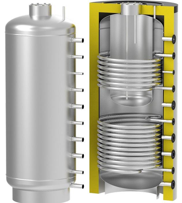 теплоаккумулирующая емкость S-Tank TT2 1000/200