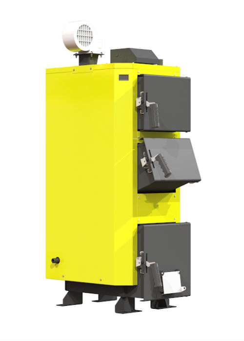 Твердотопливный котел Kronas UNIC 20 кВт