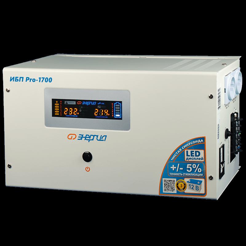 Инвертор Энергия ИБП Pro-1700