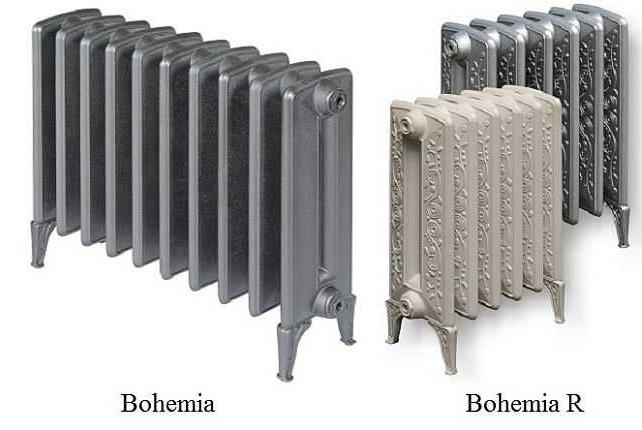 Чугунный дизайн радиатор Богемия/Богемия R
