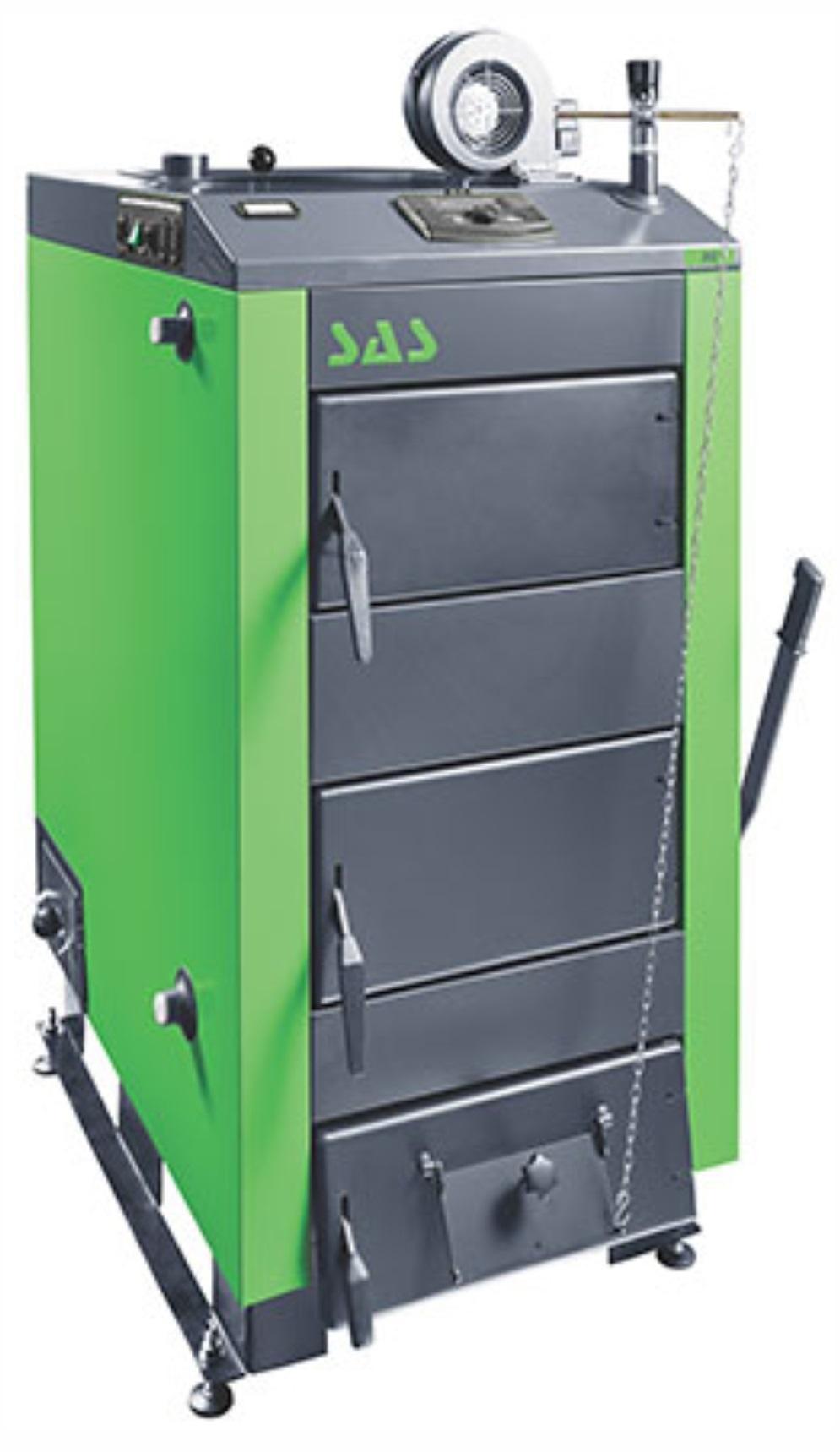 Твердотопливный стальной котел SAS MI 62 кВт
