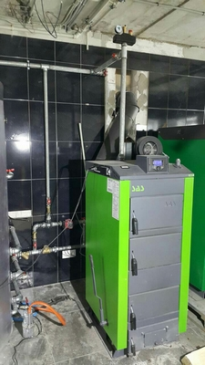 Котел на твердом топливе SAS UWT (с автоматикой) 58 кВт