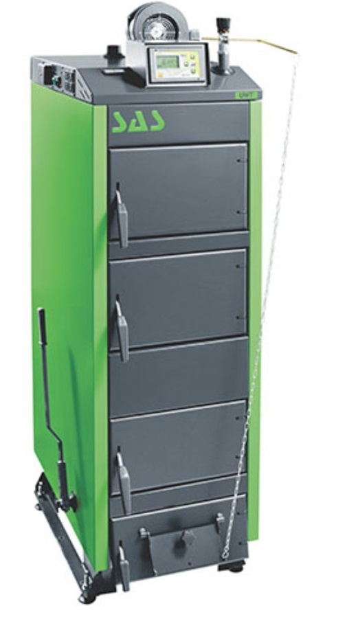 Твердотопливный котел SAS UWT (с автоматикой) 100 кВт