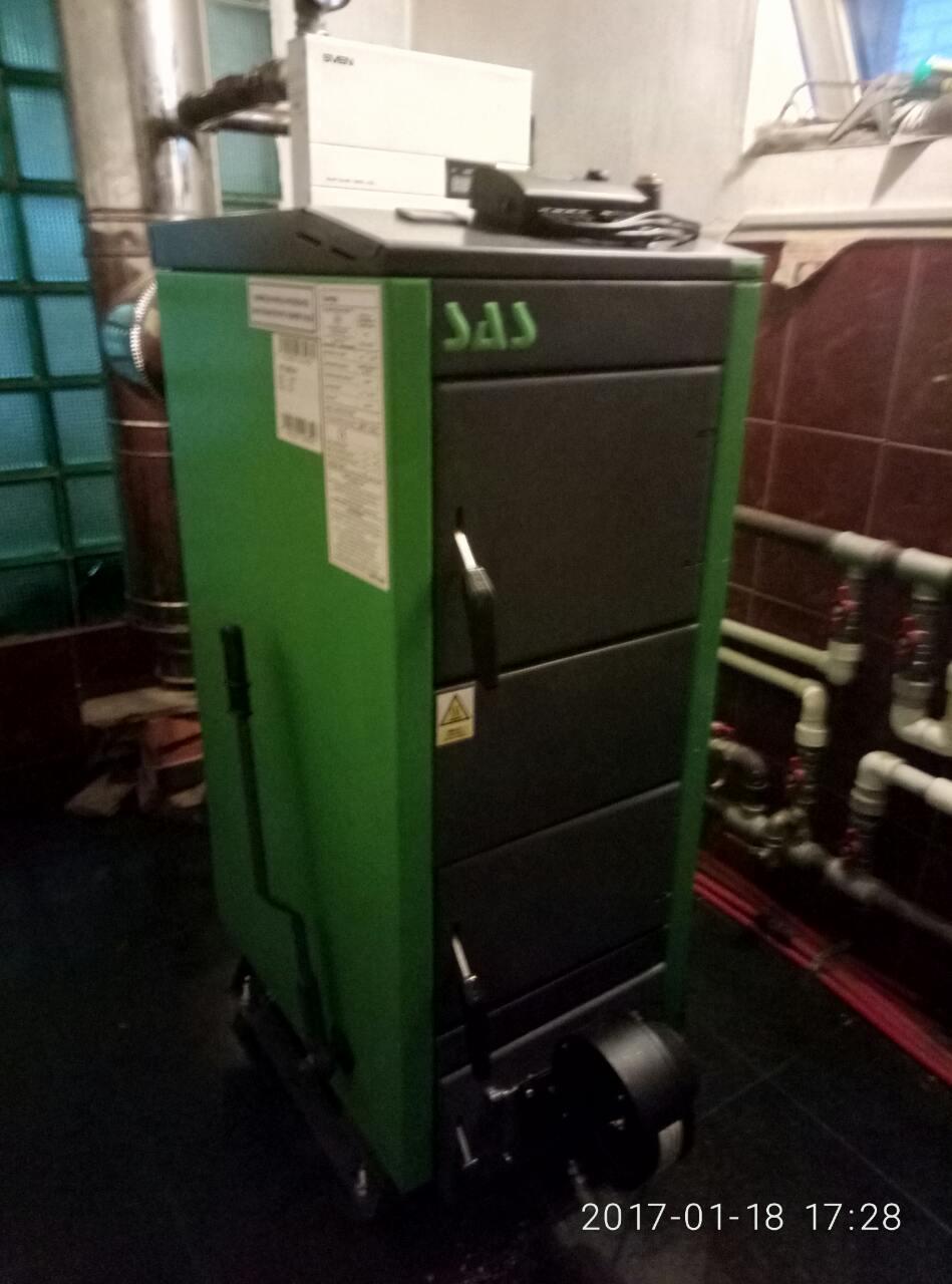 Твёрдотопливный котёл SAS UWG 9 кВт