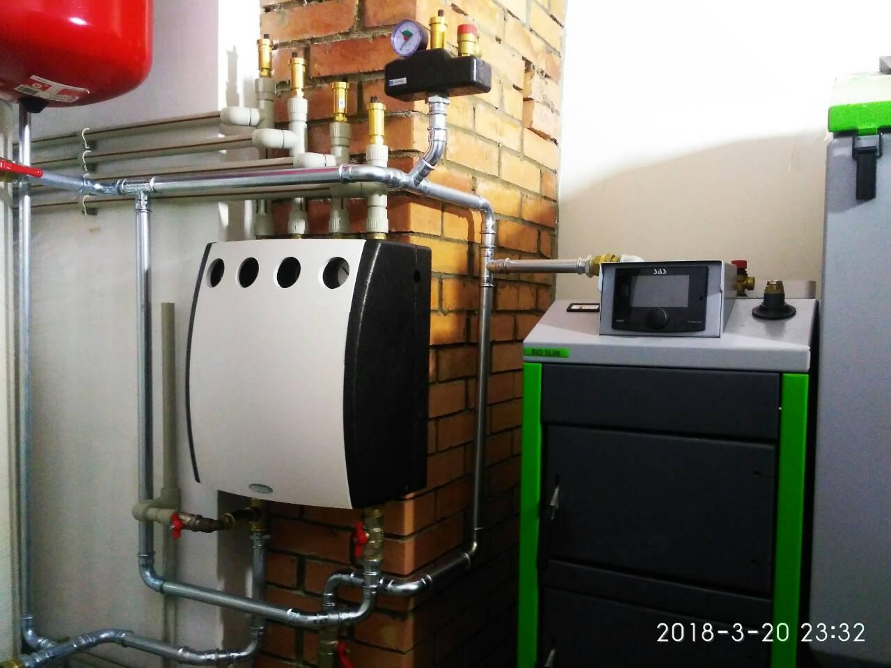 Пеллетный котел SAS BIO Multi  29 кВт