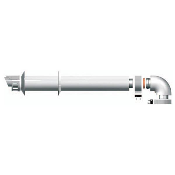Коаксиальный дымоход для газовых котлов Ariston