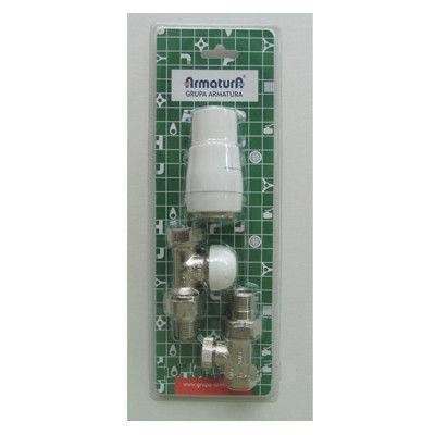 Набор для радиатора термостатический угловой
