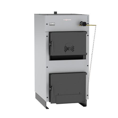 Стальной твердотопливный котел Viessmann WBS Ligna 50 30 кВт