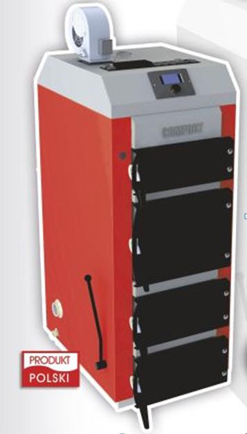 Стальной твердотопливный котел Elektromet EKO-KWS Comfort 25