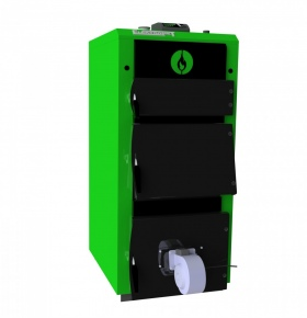 Стальной твердотопливный котел с автоматикой Elektromet EKO-KWD MAXI 30 Plus