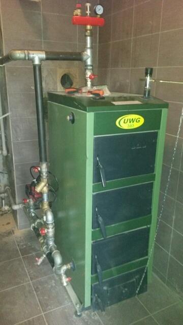 Твердотопливный котёл SAS UWG PLUS 17 kWt