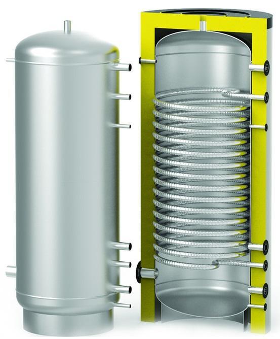 Теплоаккумулятор HFWT 2000л с бойлером ГВС