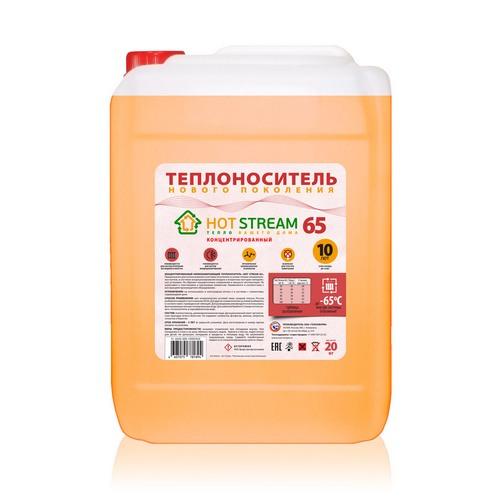 Теплоноситель (этиленгликоль) Hot Stream 65
