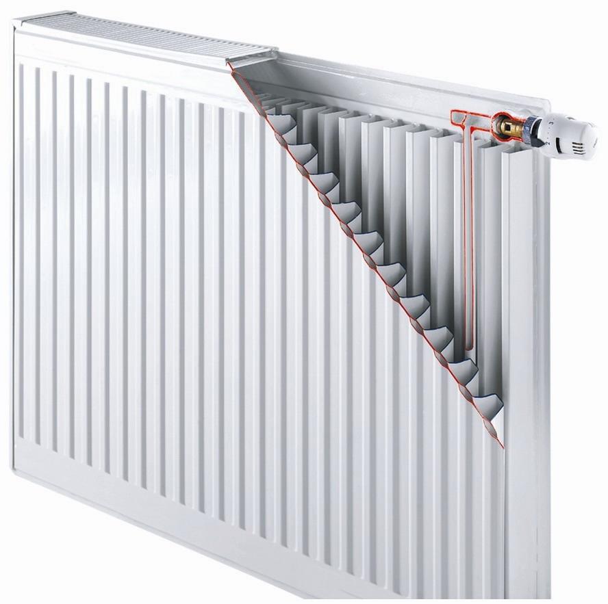Стальные радиаторы Buderus тип 22-500 боковое подключение