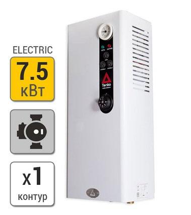 Электрокотел Tenko Стандарт 7,5 кВт 380В насос