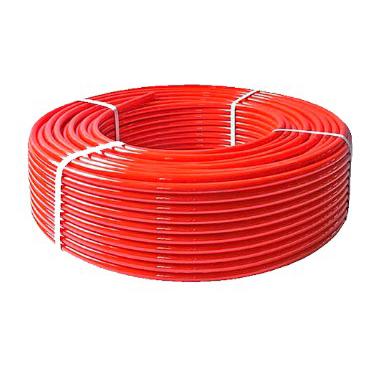 Труба пятислойнаяPE-RT тип II / EVOH / PE-RT тип II 16x2,0   красная
