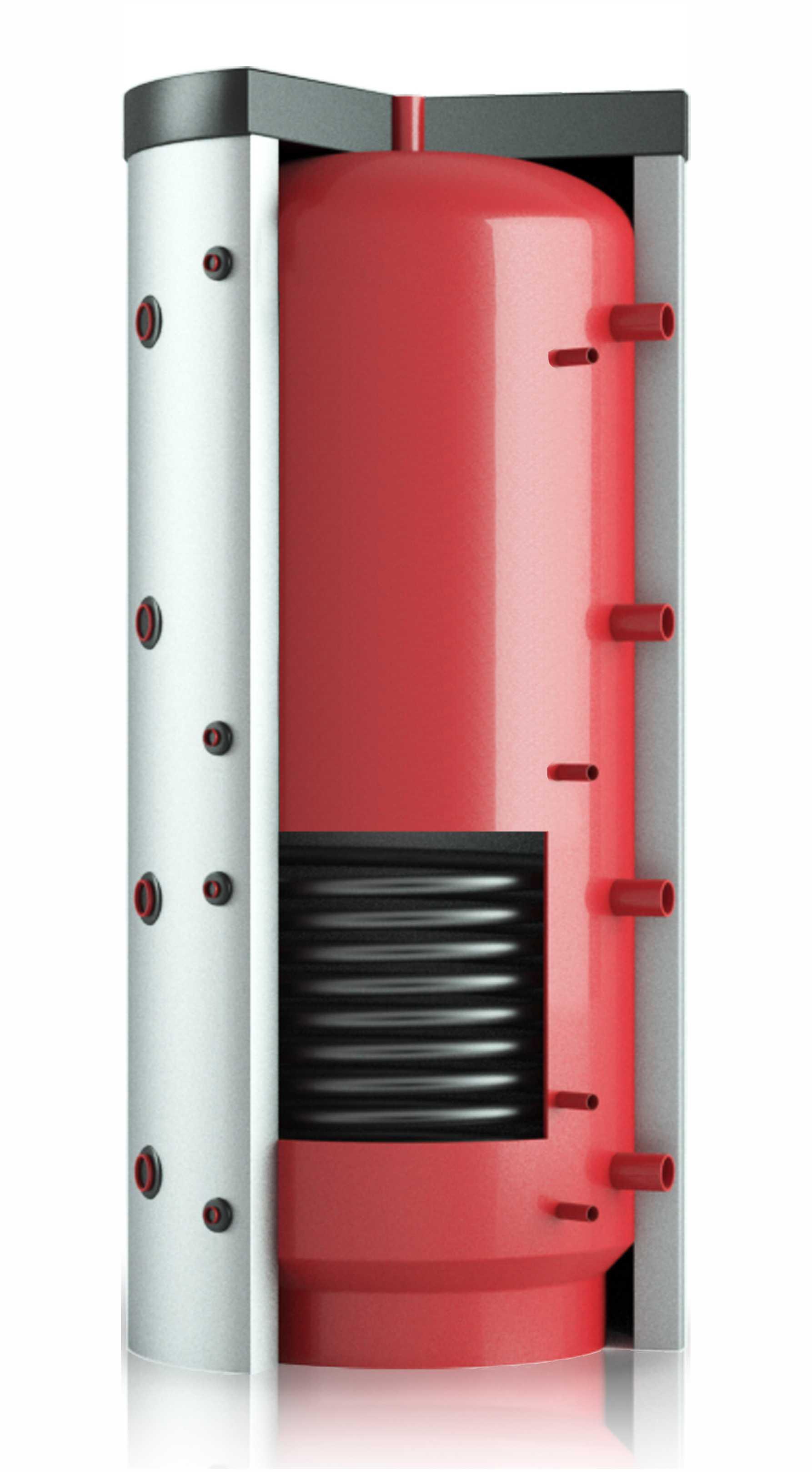 Теплобак с одним теплообменником ВТА-3 - 1500 л