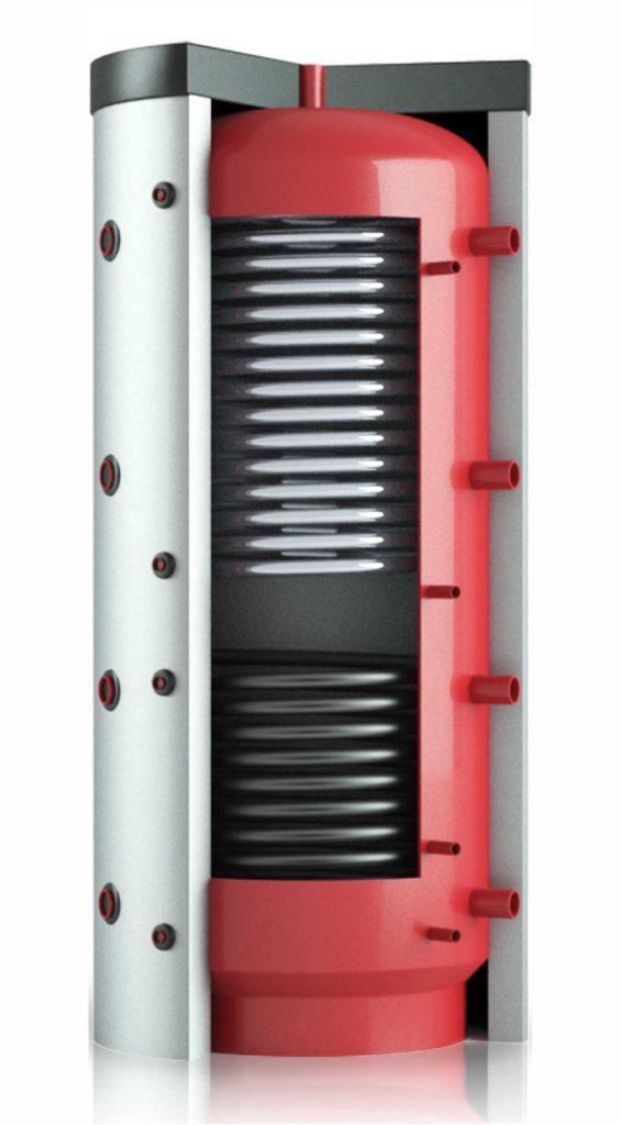 Теплобак с двумя теплообменниками ВТА-1 - 2000 л