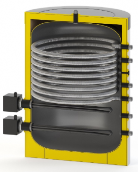Бак-бойлер Watermann Fresh 200 c ТЭНом на 18 кВт