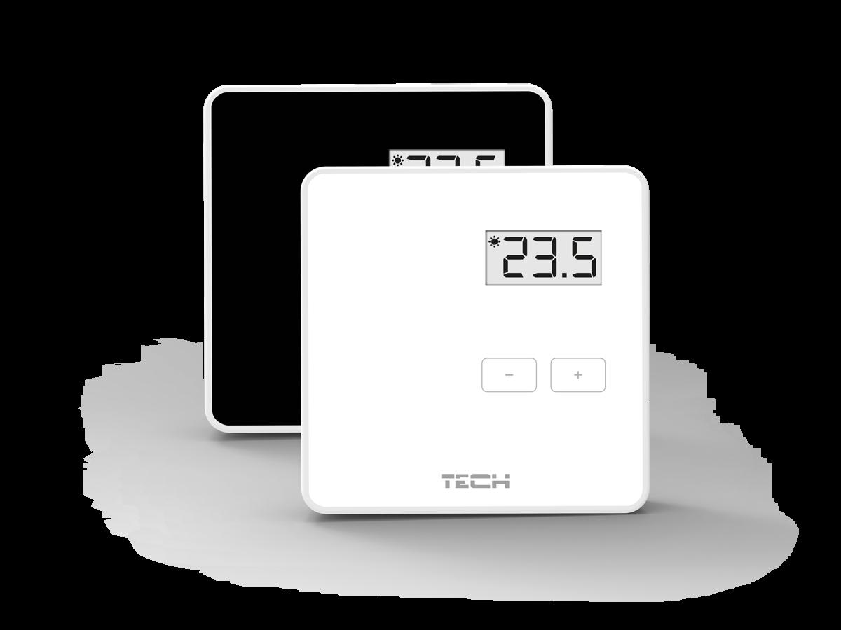 Беспроводной комнатный терморегулятор двухпозиционный TECH  R 8 b