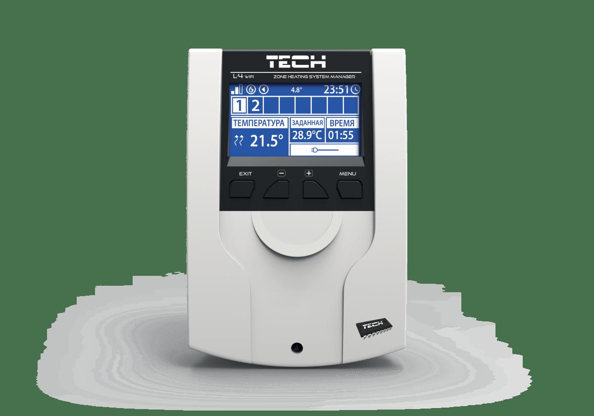 Проводная-беспроводная монтажная планка TECH L-4 WiFi