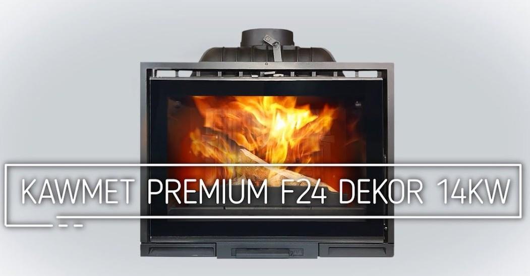 Каминная топка KAWMET Premium F24 Dekor 14кВт