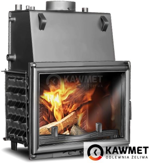 Каминная топка KAWMET W1 CO 18,7кВт с водяным контуром