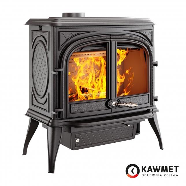 Чугунная печь KAWMET Premium S10 13,9кВт