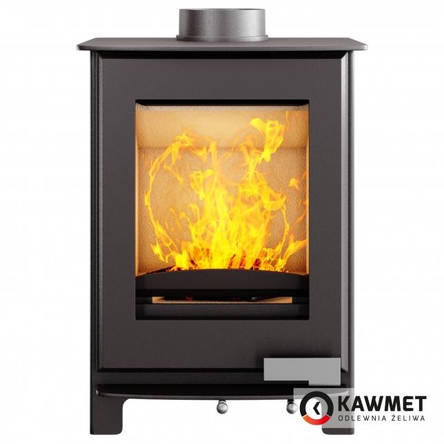 Чугунная печь KAWMET Premium S17 Dekor 4,9кВт