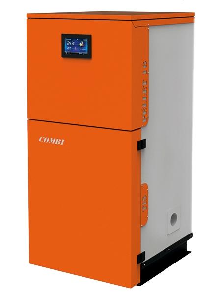 Твёрдотопливный котёл TIS PELLET 25 кВт Combi 296P