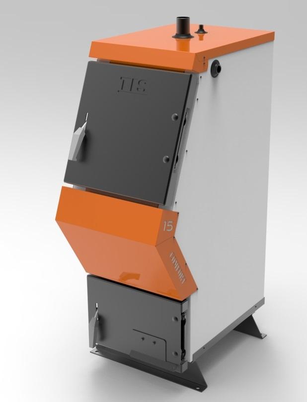 Стальной твердотопливный котел TIS Comfort Pro 15 кВт